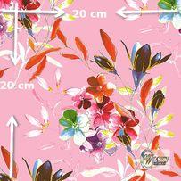 Materiał lub tapeta na zamówienie wzór: Kompozycja kwiatowa - seria 1
