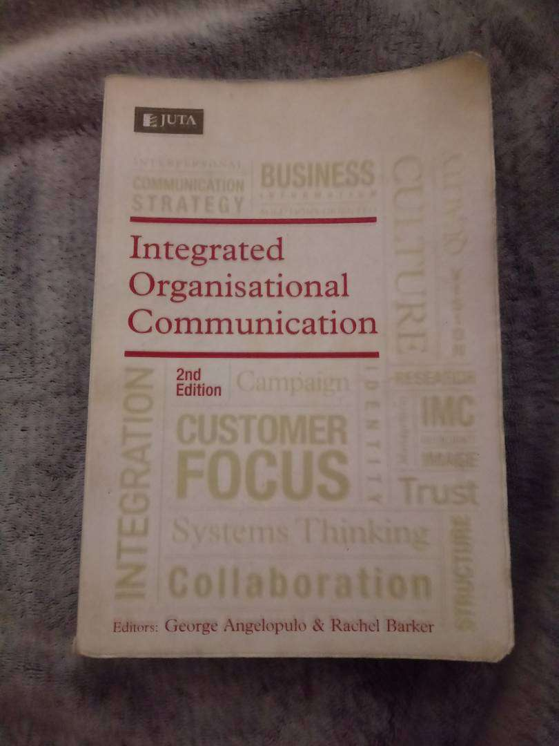 Integrated marketing communication book for sale 0