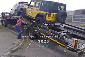 Long distance vehicle towing