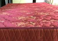 Bonded quilted HD 5by6 mattress. Matress 7 inch's in thicknes 0