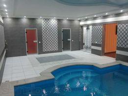 Дом посуточно 320м, еврорем, бассейн, 2сауны, теннис, беседка, караоке