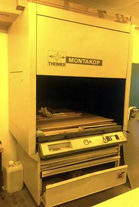 Montakop Theimer Plate Machine