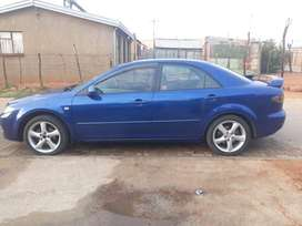 Mazda 6 sport with sunroof ,multistering function , leather int , rims