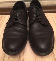 Туфли черные кожа большой размер фирменные
