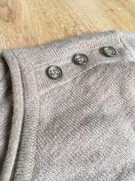Sweterek Atmosphere Primark lekki beżowy 36 wiosna