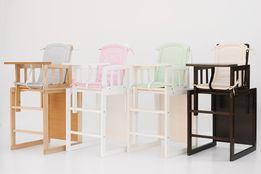 Детский стульчик трансформер для кормления «МАЛЯТКО»