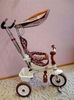 Трехколесный велосипед с родительской ручкой Lexus Trike Safari