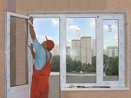 Ремонт реголювання металопластикових вікон і дверей