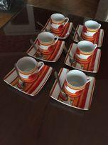 """Кофейный набор кавовий набір эспрессо """"FINECASA"""""""