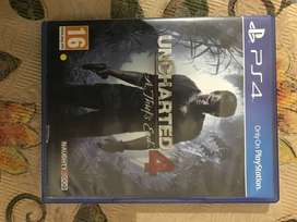Uncharted 4 on PS4