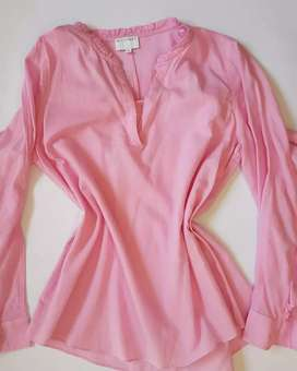 Witchery  blouse size 10 Pink