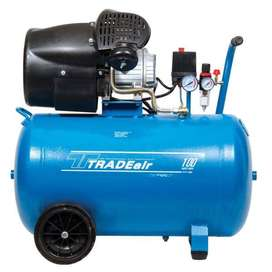Tradeair 100L 1.8KW V-Head Direct Drive Compressor (MCFRC113)