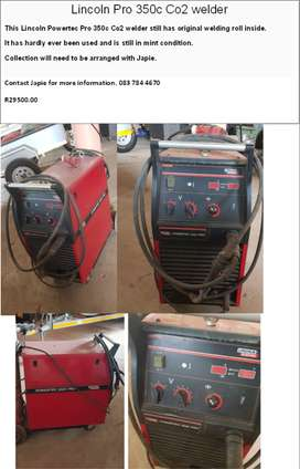 Lincoln Pro 350c CO2 Welder for sale