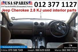 Jeep Cherokee 2.8 KJ 2002-07 used interior parts for sale