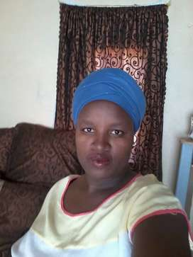 Looking for a stay in or out job as a domestic worker.