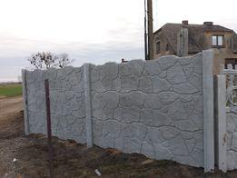 Ogrodzenia betonowe Montaz