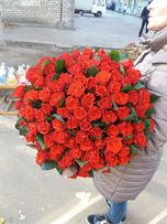 Цветы, Букеты, доставка цветов, 51 роза, 101 роза, заказ, доставка