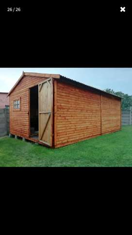 Wooden 2 Room Wendy House