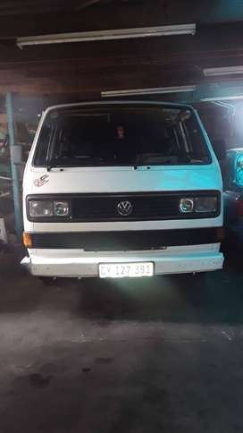 Microbus with toyota 4y motor