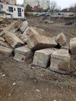 Блоки ФБС 24/5/6 фундаментные, бой кирпича, грунт, демонтаж.