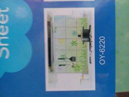 Декоративная наклейка на плитку на кухне Kitchen Sheet