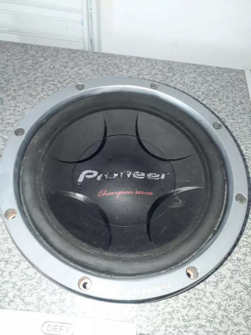 Pioneer Champion Series subs for sale 0