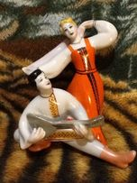 "Фигурка фарфоровая ""Русский танец"" 70-х гг."