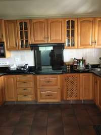 Image of Solid Oak Kitchen