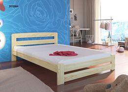 Kompletne łóżko sosnowe MODEL OLA producent Wymiary HIT DOSTAWA 4 dni