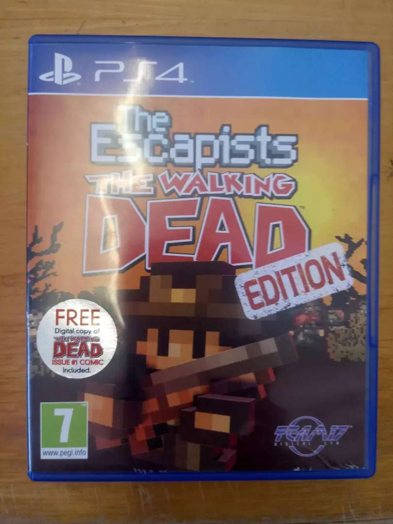 Ps4 the walking dead - the escapists 0