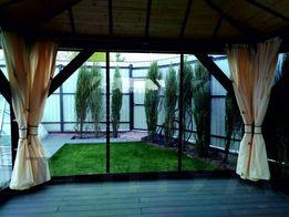 Защитные шторы для беседки, прозрачные окна ПВХ