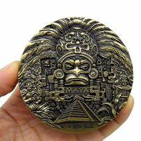 Монета Пророчество Майя! Бронза