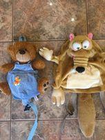 Детские рюкзачки рюкзаки Мишка и Белка