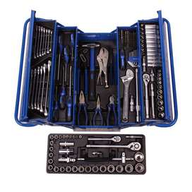 165 piece Professional Tool Kits with Metal Tool Box Brand New Sets