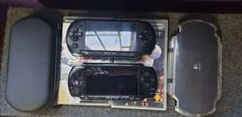 Psp x 2 with 3 games