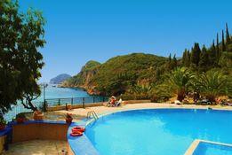 Grecja Korfu wakacje all inclusive wypoczynek hotel przy plaży