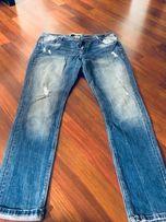 Spodnie jeansy dzienny 42 wyprzedaż szafy
