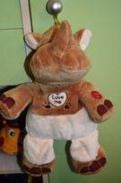 Мягкая игрушка Музыкальный Носорог 40 см
