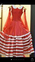 Платье детское для бальных танцев ,стандартная программа