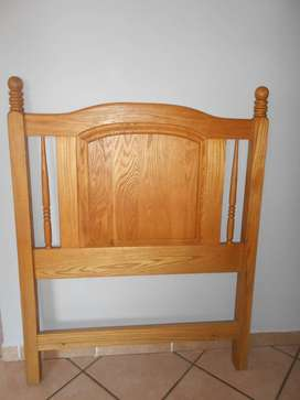 Headboard for a single bed