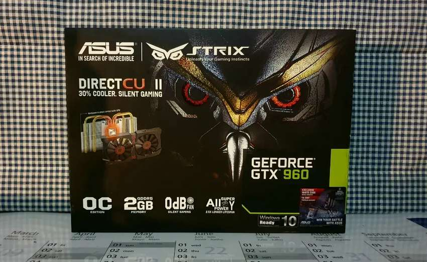 Boxed (Never Used) ASUS NVIDIA GTX 960 OC (2GB GDDR5) Graphics Card 0