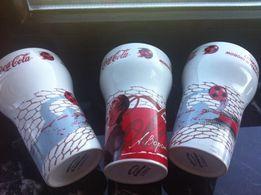 Бокалы. Стаканы Футбол Сoca-Cola Кока-Кола. Под пиво, сок , компот