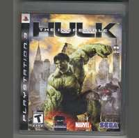 Image of Incredible Hulk - PS3