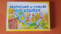 Gra planszowa Bezpieczna droga do szkoły