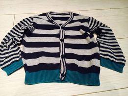 Sweter dla chłopca w paski 18-24 miesiące
