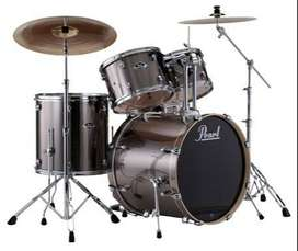 PEARL EXPORT EXX PRO 5pc DRUM KIT WITH HARDWARE, & CYMBALS