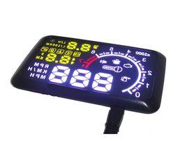 Проекция скорости, расхода топлива, температуры на лобовое стекло Авто