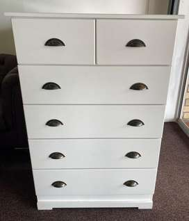 Brand New! - Chest of Drawers- Made solid - with inside runners