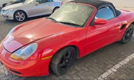 1997 Porsche 986 Boxster tiptronic stripping for parts