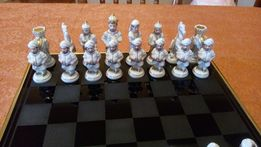 Эксклюзивные шахматы из фарфора